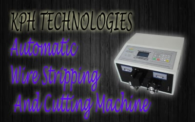 Wire Stripping & Cutting Machine
